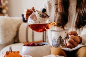 Hot tea in Omaha